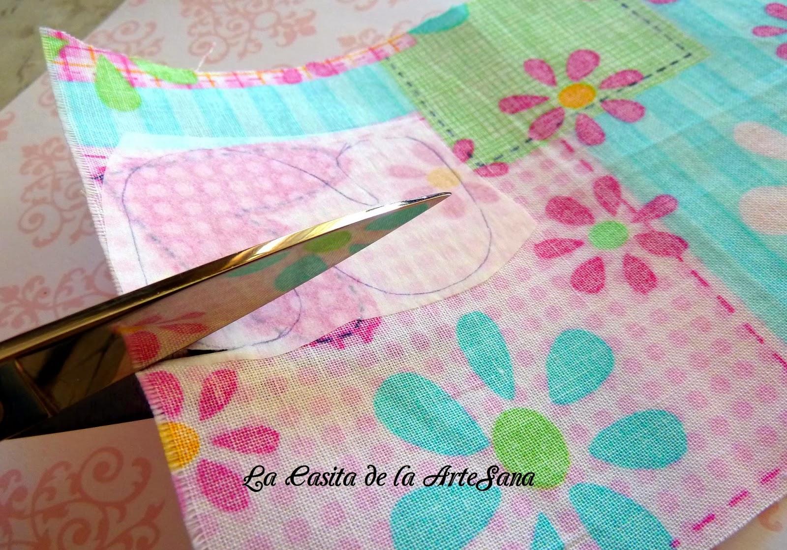 Mi primer tutorial c mo hacer aplicaciones de patchwork - La casita del patchwork ...