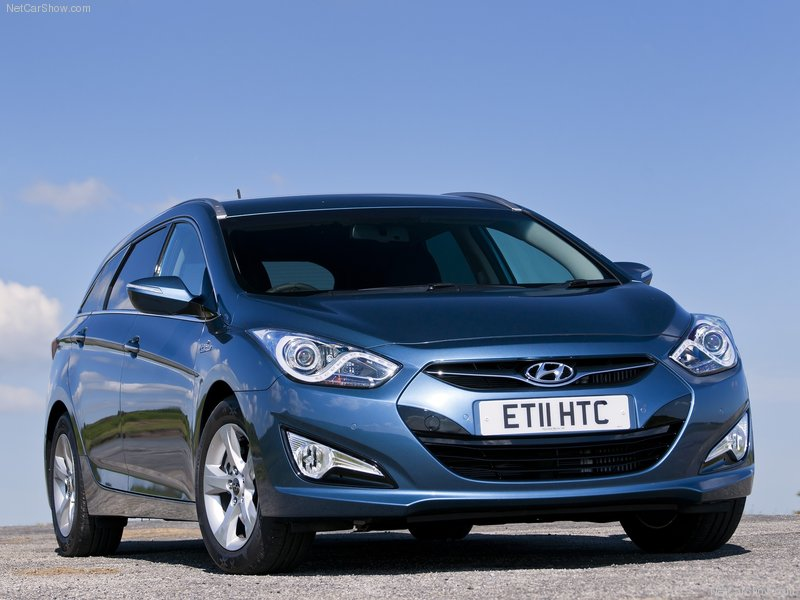 2012 Hyundai i40 Tourer UK Editions