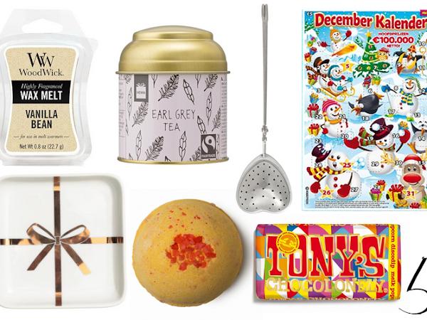 Budget cadeautips voor de feestdagen
