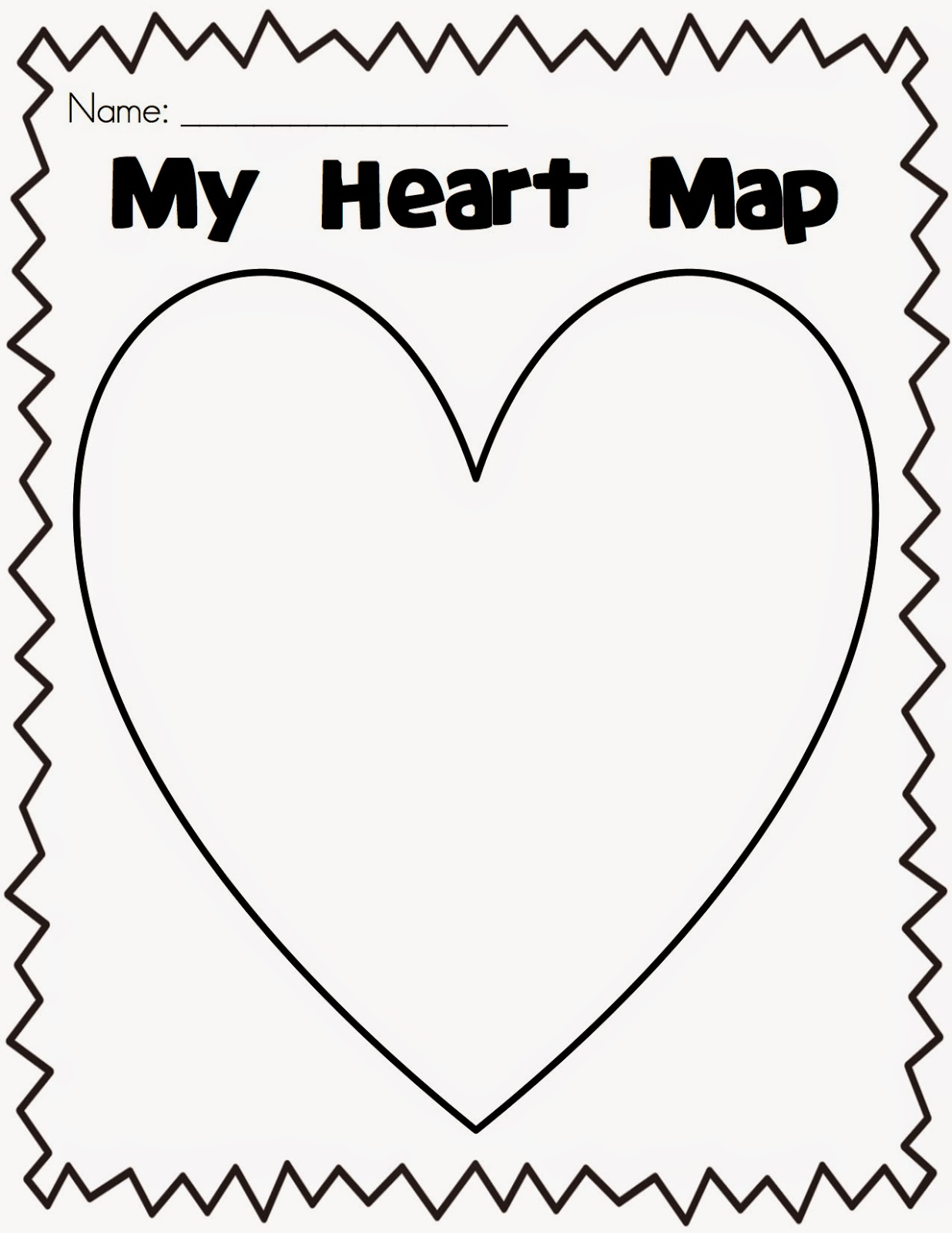 mrs dolch's pm kindy october 2014 Heart Map For Writers Workshop throughout the year during writing workshop, we will use our heart maps to write stories about things we know and love what a productive day we had during heart map for writers workshop