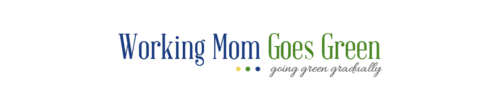 Working Mom Goes Green