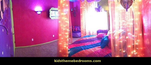 I Dream Of Jeannie   Aladdin Theme Bedrooms