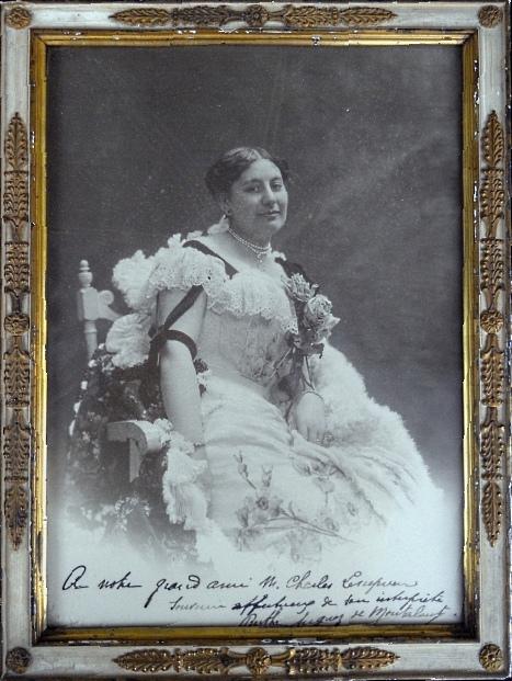 FRENCH SOPRANO BERTHE AUGUEZ DE MONTALANT (1865 1937) CD