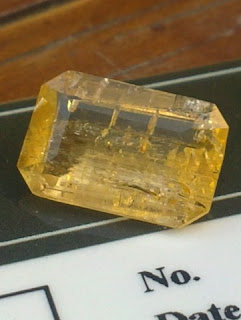 Natural yellow Topaz Gemstone