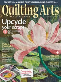 Quilting Arts April/May 2018