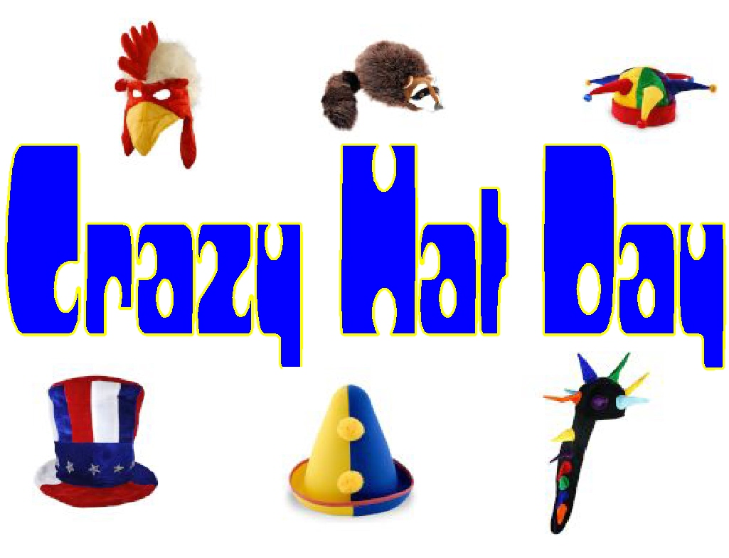 Crazy Hat Clip Art While my birthday is tomorrow