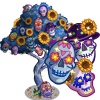 FarmVille Giant Sugar Skull Tree - FvLegends.Com