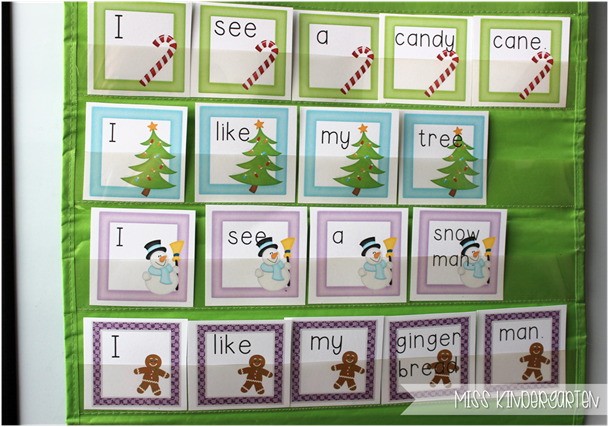 Miss Kindergarten {sweet sentences}