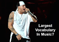 Eminem vocabulary image