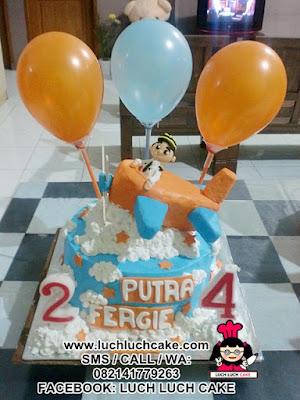 Kue Tart Pesawat Daerah Surabaya - Sidoarjo