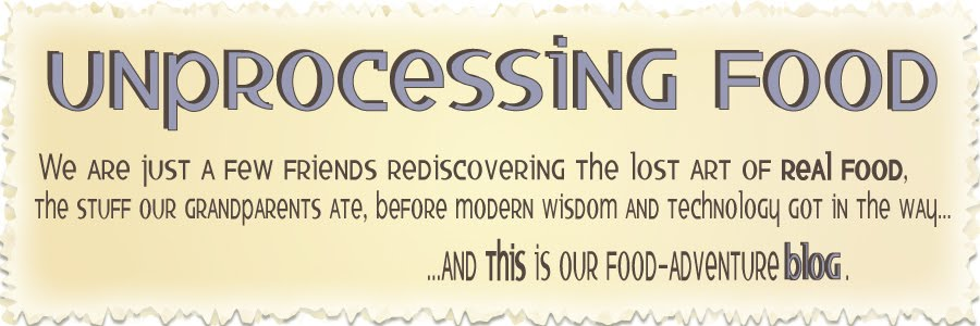 unprocessing food