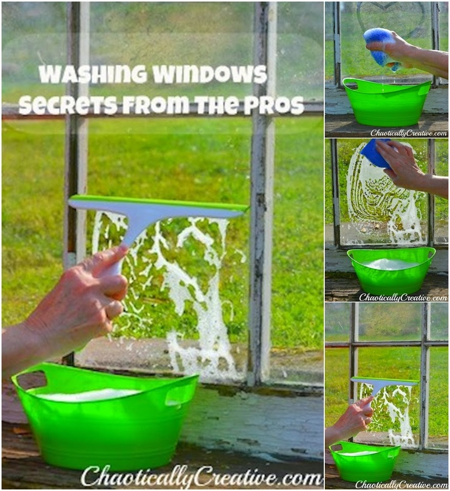 Washing windows like a pro diy craft projects - Diy tips home window cleaning ...