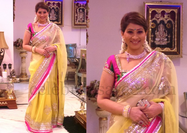 Shreedevi's Seema Gujral Saree