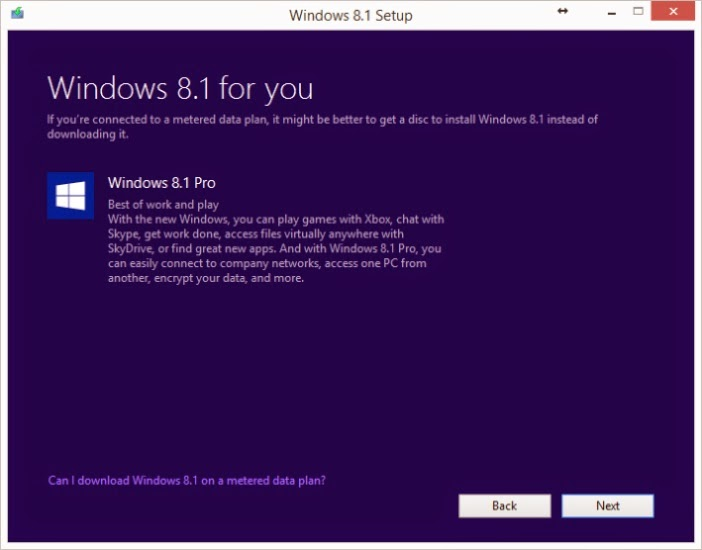 Cara Mendownload File ISO Windows 8.1 Dengan Lisensi Legal Windows 8 yang Mudah