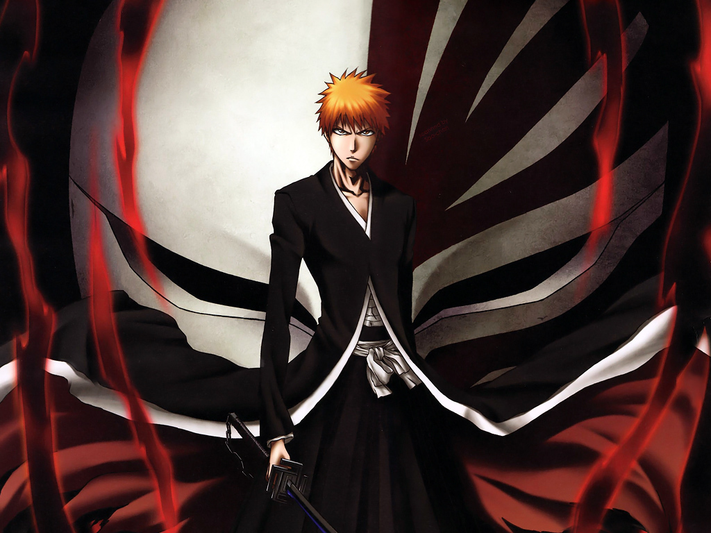 Ichigo Kurosaki Again With The Hollow Mask