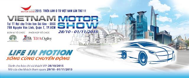 Việt Nam Motor Show 2015 - Triển lãm xe hơi lớn nhất 2015 3