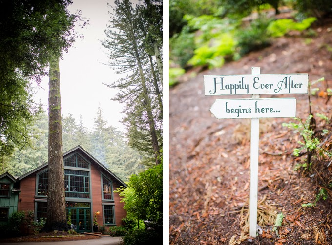 Elegant Rainy Springtime Mountain Wedding
