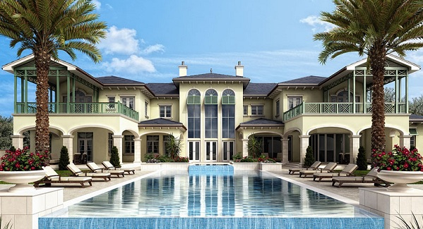 Boca raton homes for sale for Luxury mansions for sale in florida