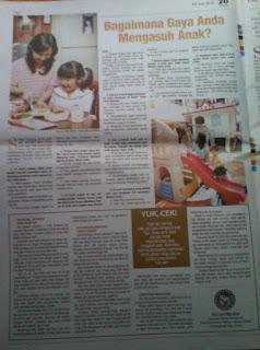 artikel cara mengasuh anak