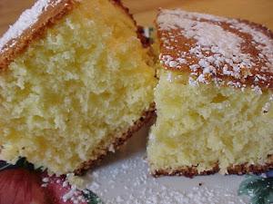Gâteau moelleux à l'orange Viviane