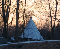 Aboriginal First Nations Tee Pee at Circle Square Ranch in Mountain Grove Ontario. Photo Property of Carla Cooper and / or Worship Melodies. All copyrights claimed