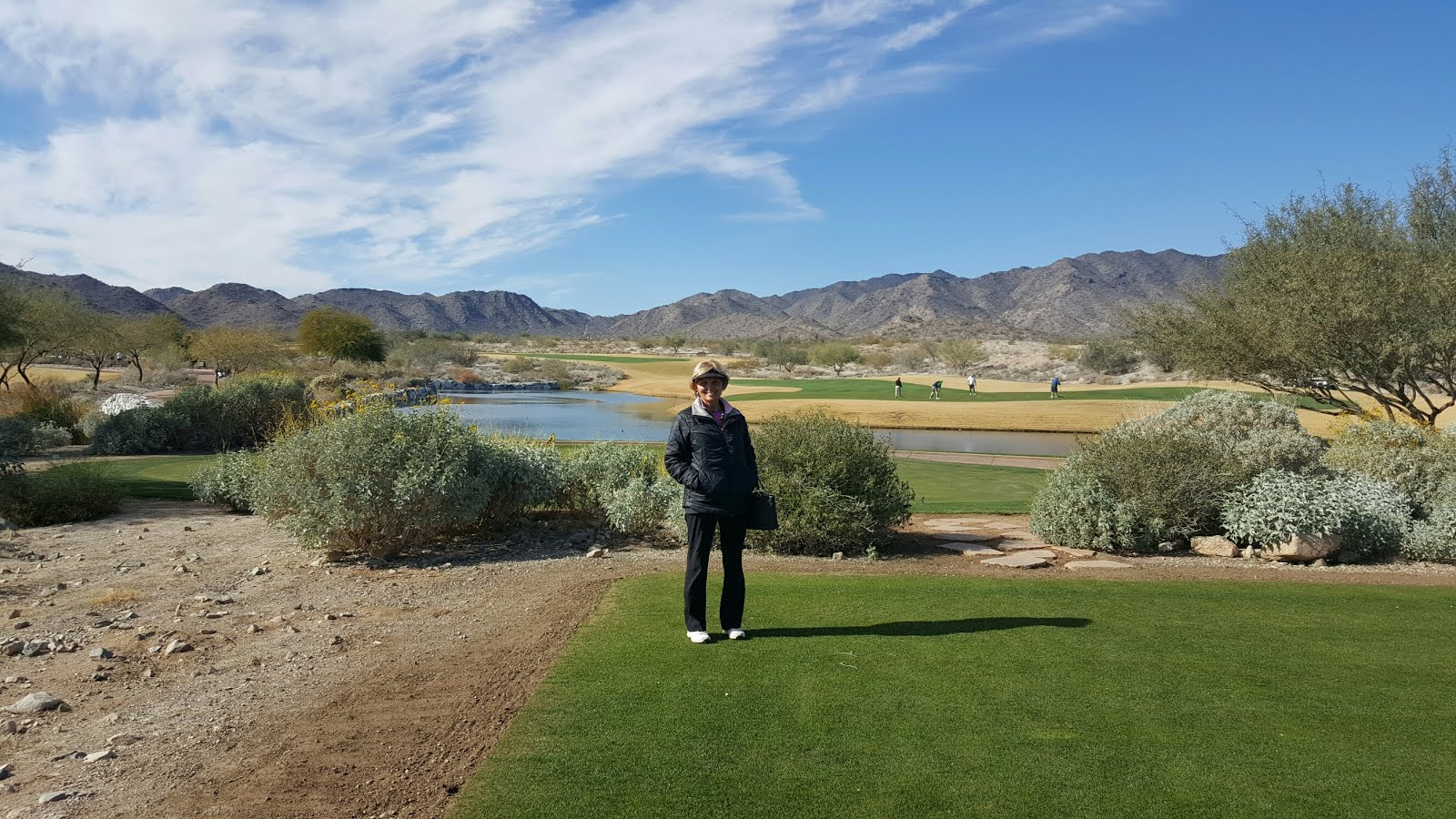 Great Way to Spend the Last Day of 2015. Verrado Golf Club in the White Tank Mountains