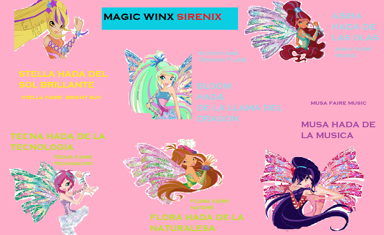 winx club characters images