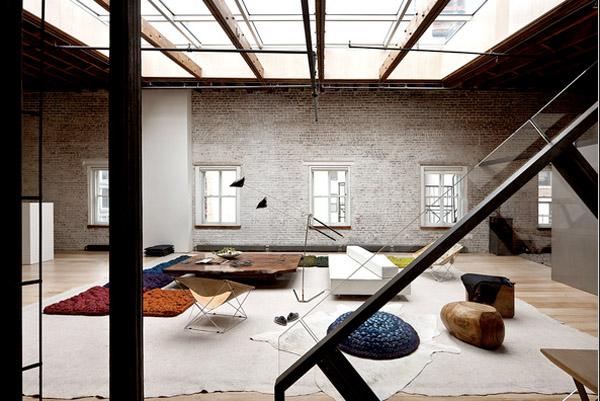 diseño textil alfombras loft Dana Barnes- wool design