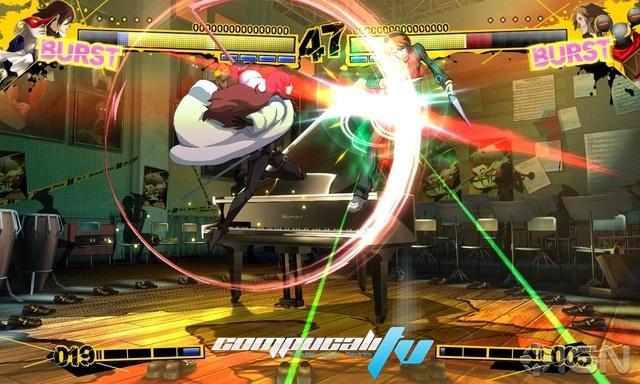 Persona 4 Arena Xbox 360 NTSC Español Descargar 2012