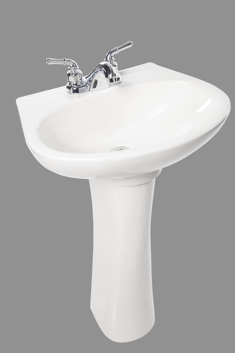 Servidor porcelana sanitaria lavamanos y pedestal gioia for Porcelana sanitaria