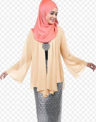 Busana Muslimah Terbaru Model Kimono Style