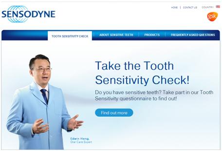 Sensodyne untuk gigi sensitif