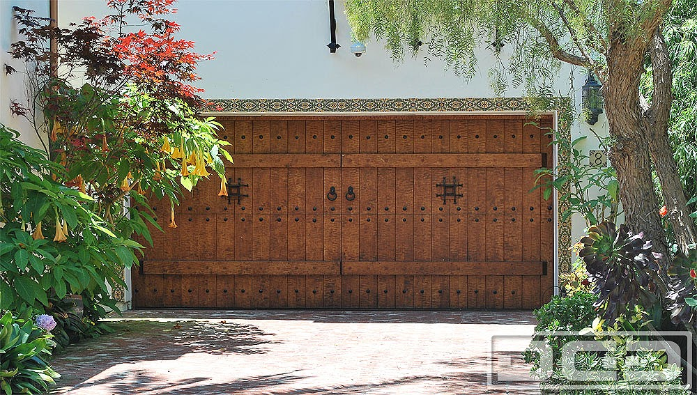 Santa Barbara Spanish Style Garage Doors