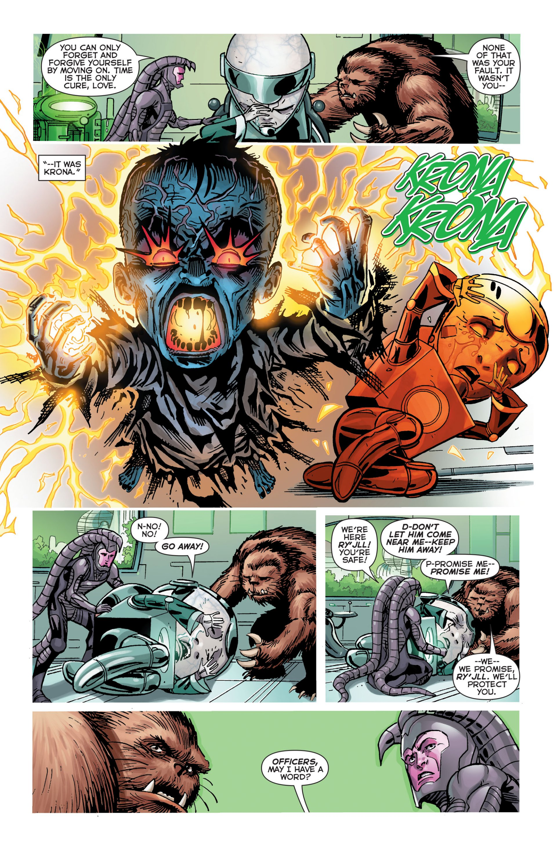 Read online Green Lantern Corps (2006) comic -  Issue #63 - 11