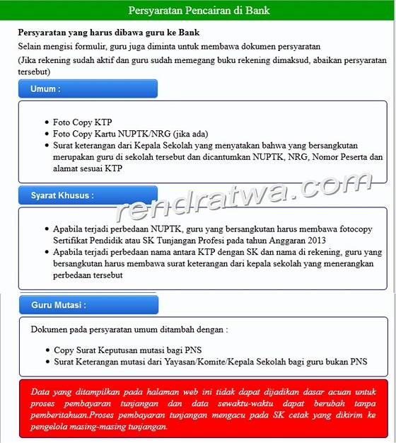 Cek Status Penerbitan SK Tunjangan Profesi Guru