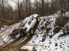 Offroad driving scool.  4x4 on mud, sand, snow - how to do off road wheeling