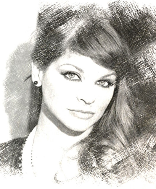 Cantanti famosi - Alessandra Amoroso - disegno da colorare