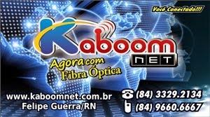 KABOOM NET - O melhor provedor de internet do Oeste Potiguar