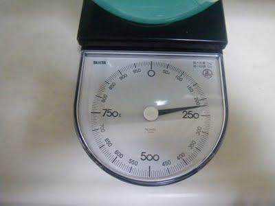 重さは220g