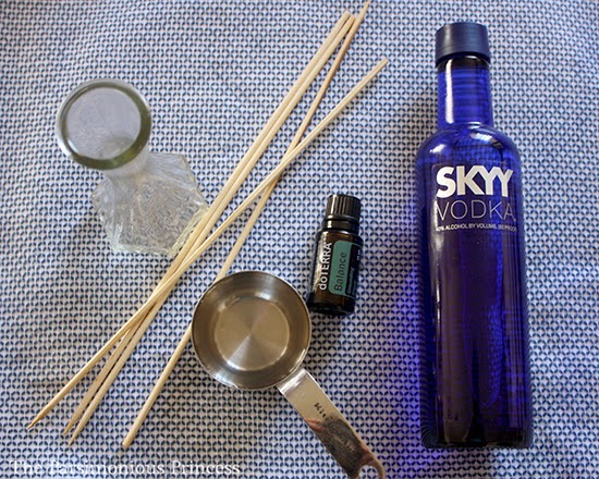 The Parsimonious Princess How To Make An Essential Oil Reed Diffuser