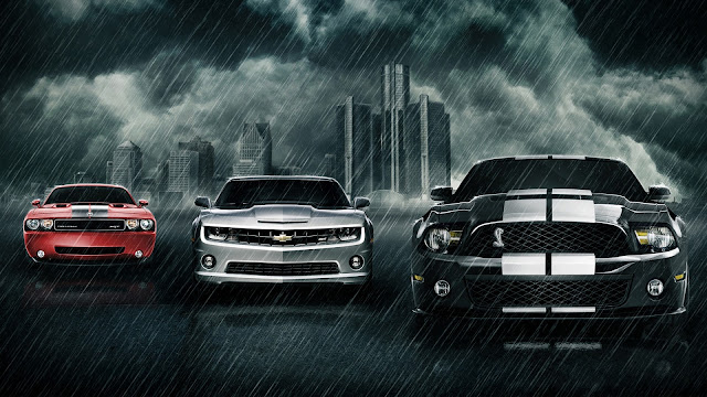 Muscle Cars HD Wallpaper