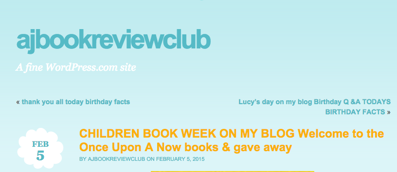 ajbookreviewclub, kid's review, book review, book blog