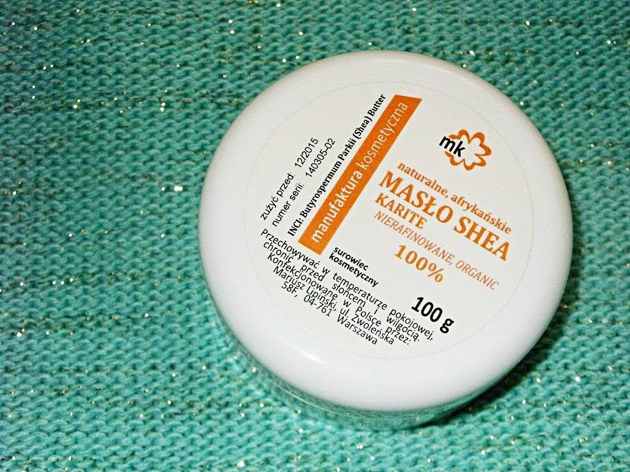 Recenzja: Nierafinowane afrykańskie masło shea, Manufaktura Kosmetyczna