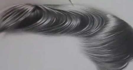 ... Drawing & Painting: Tutorial - Drawing Hiperrealistic Hair in Pencil