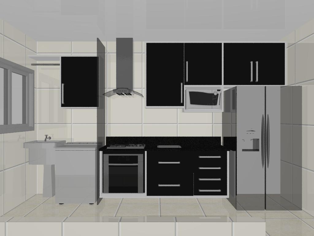 #6D695E Cozinha corredor  1024x768 px Projetos Cozinha Corredor #17 imagens
