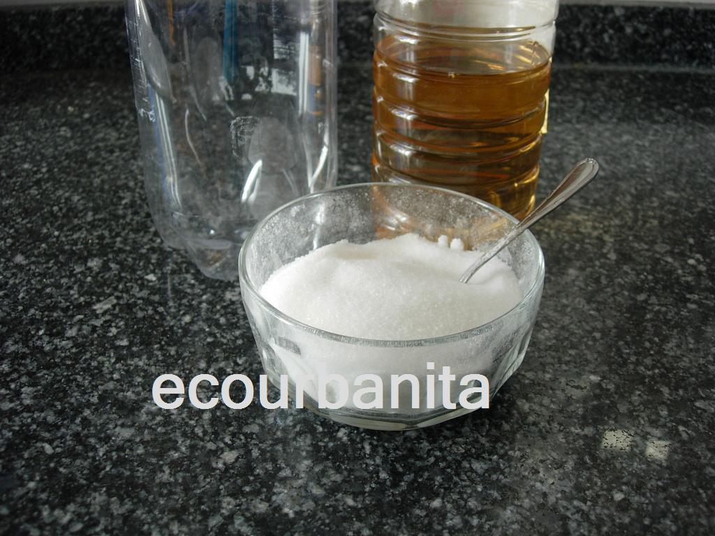 Ecourbanita insecticida casero contra hormigas moscas y - Trampa casera para moscas ...