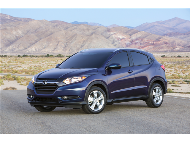 2016 New Gen Honda HR-V Performance side view