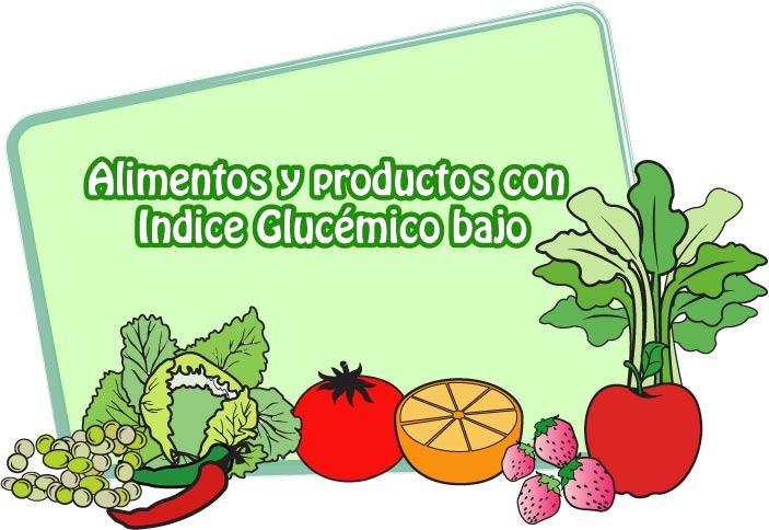 Ndice glic mico ig y carga glic mica cg - Alimentos bajos en glucosa ...
