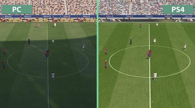 Perbandingan Kualitas Grafis PES 2016 Versi PC dengan PlayStation 4