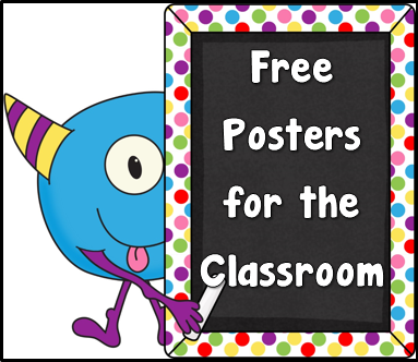 Teacher's Take-Out: Free Posters or Anchor Charts for the Classrom